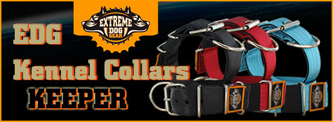 EDG kennel collars keeper
