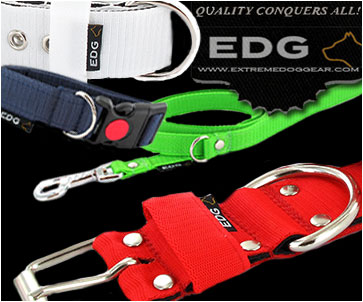 EDG - Embroidered collars and leads