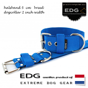 EDG collar 5cm - 2inch dutch blue