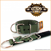 Kennel collar keeper olive