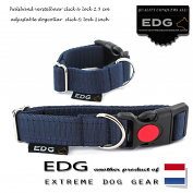 EDG Click Lock Collar 2,5cm - 1 inch graphite grey