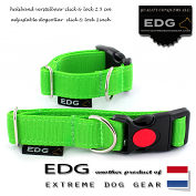 EDG Click Lock Collar 2,5cm - 1 inch apple green