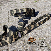 Basic Camo Tactical Collar & Leash set - Safe quick release!