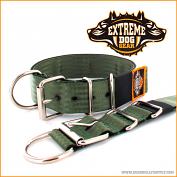Basic kennel collar olive