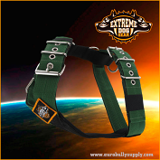 Sport harness 5cm Dark Green