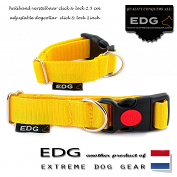 EDG Click Lock Collar 2,5cm - 1 inch yellow