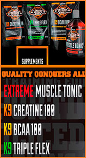 Extreme Dog Supplements - pitbull sports nutrition