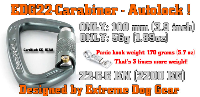 Carabiner autolock extreme dog gear