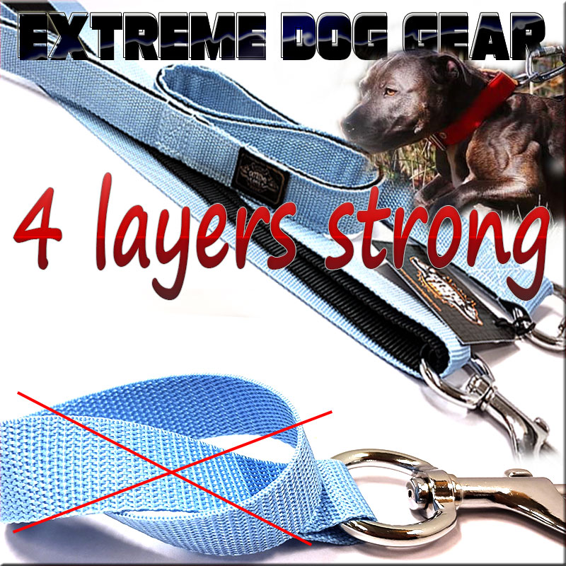 4 layers stong webbing dog leashes